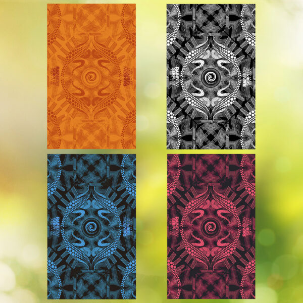 Sarongs 4 colour ways